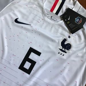 d4f6a6addde Nike Shirts - NWT World Cup 2018 France Jersey Pogba Jersey